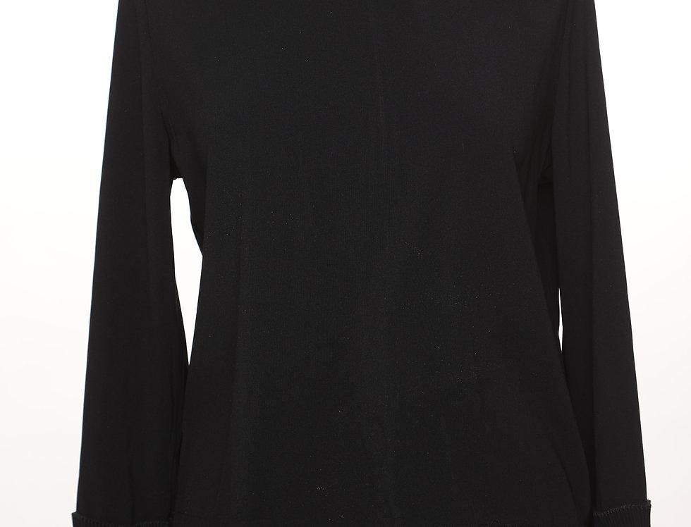 חולצת פליסה שחור**