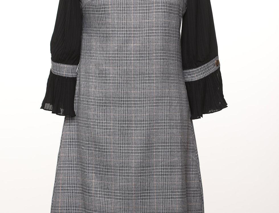 שמלת מנהטן קפה***