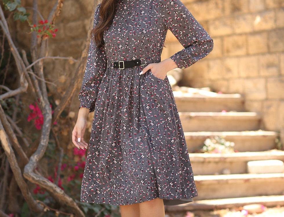 שמלת דורית גריי