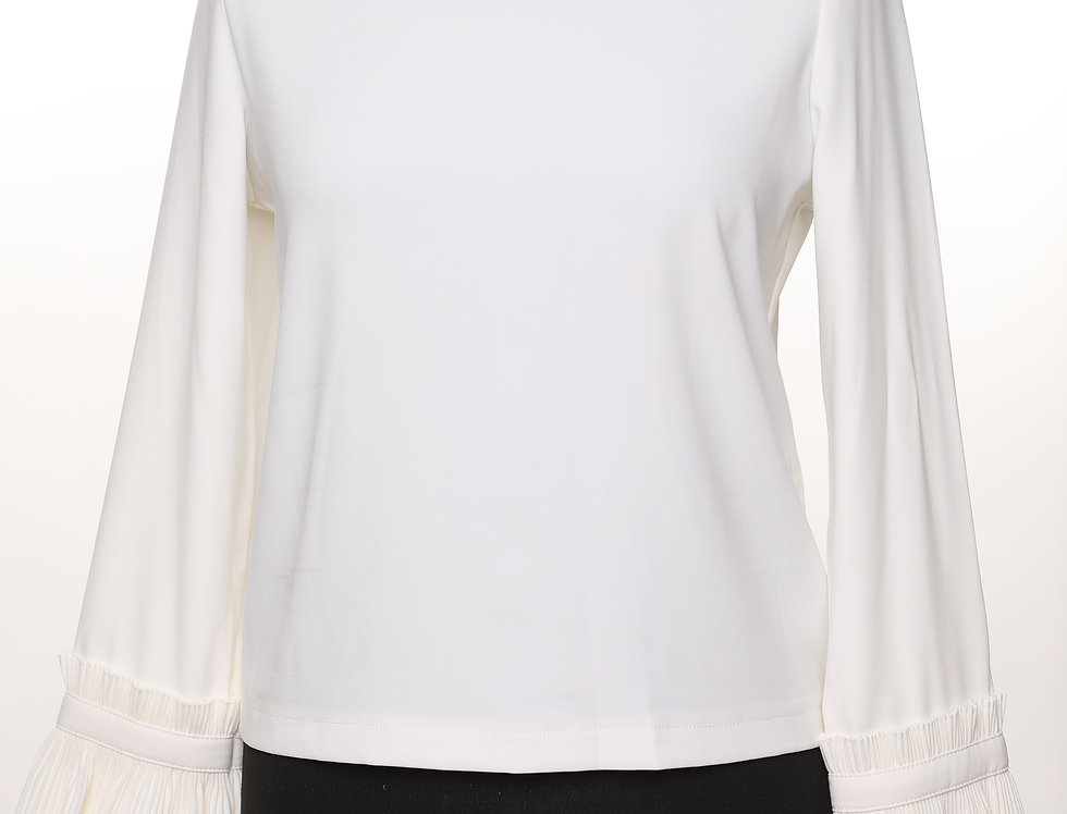 חולצת פליסה לבנה**