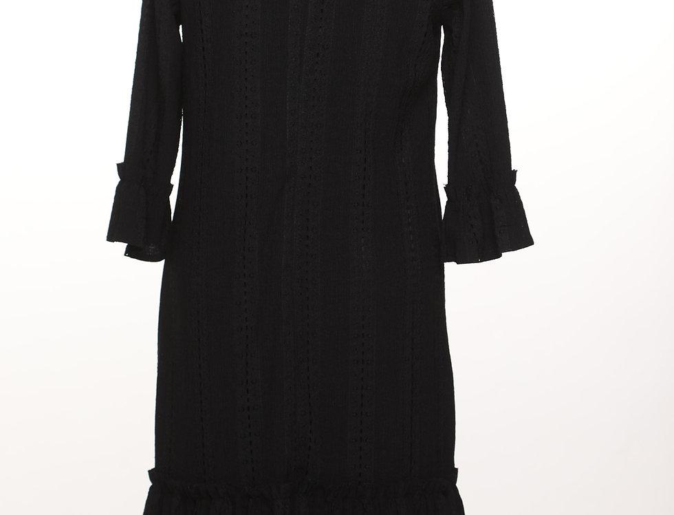 שמלת לייס שחור***