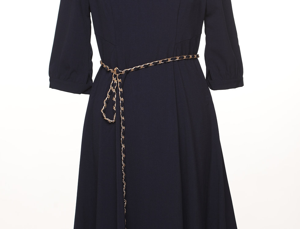 שמלת אורן נייבי**