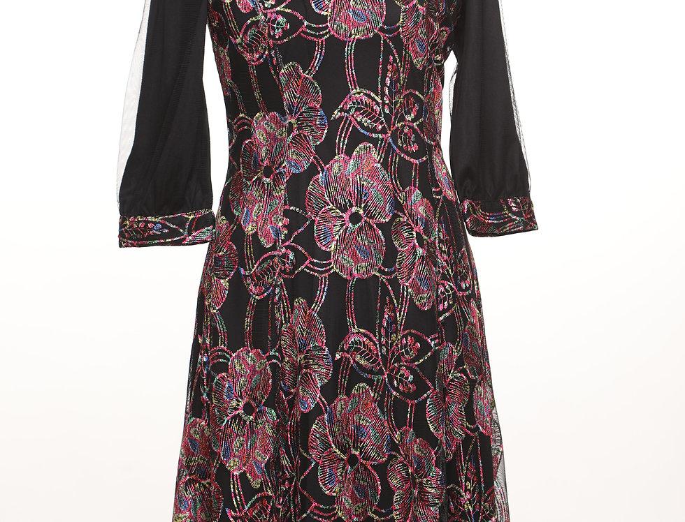שמלת פרינסס פינק**