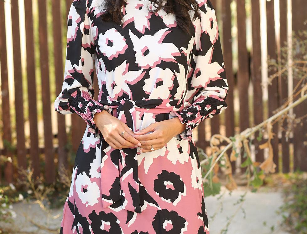 שמלת רוני פינק