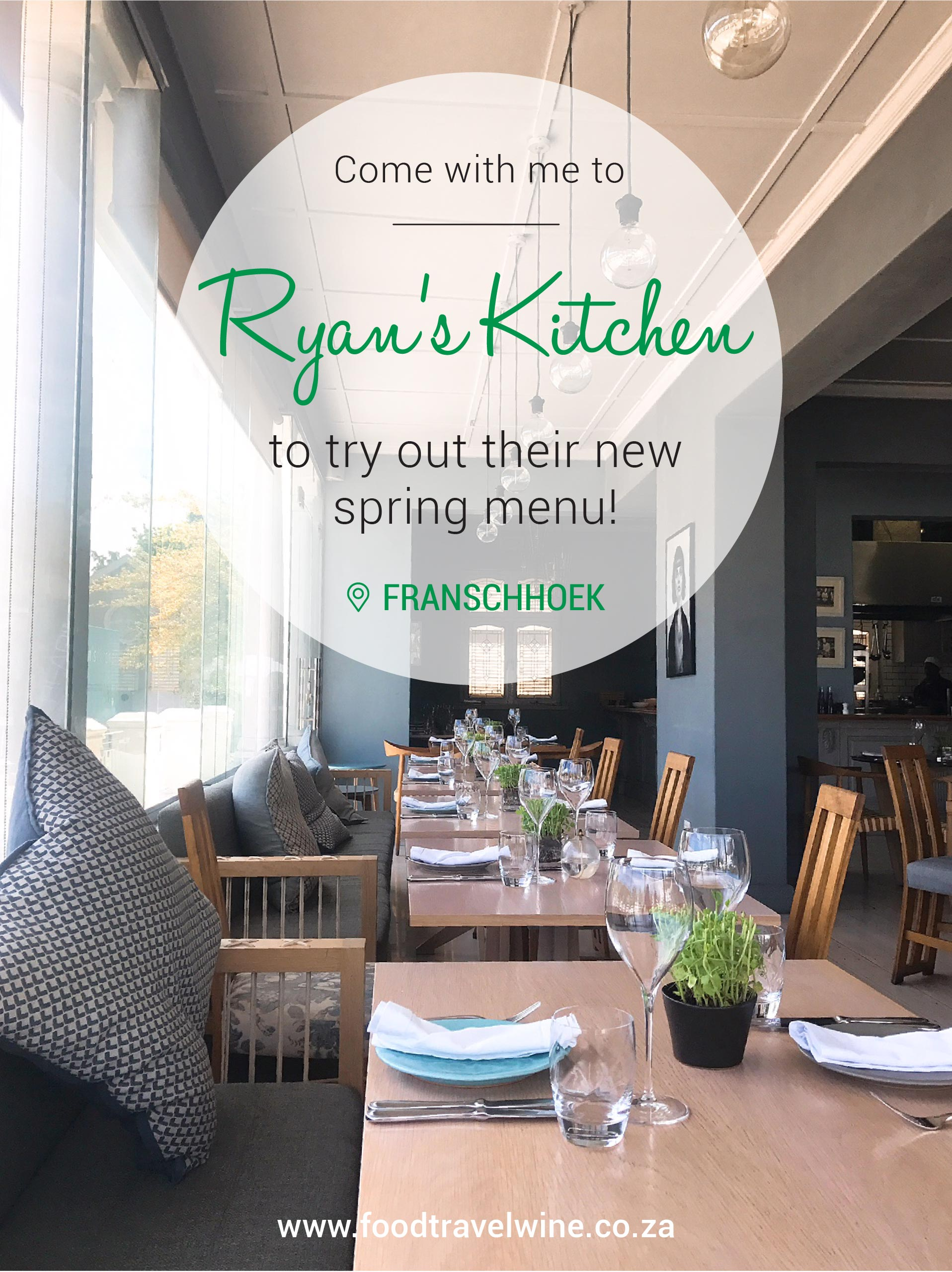 4 Course Spring Menu At Ryans Kitchen