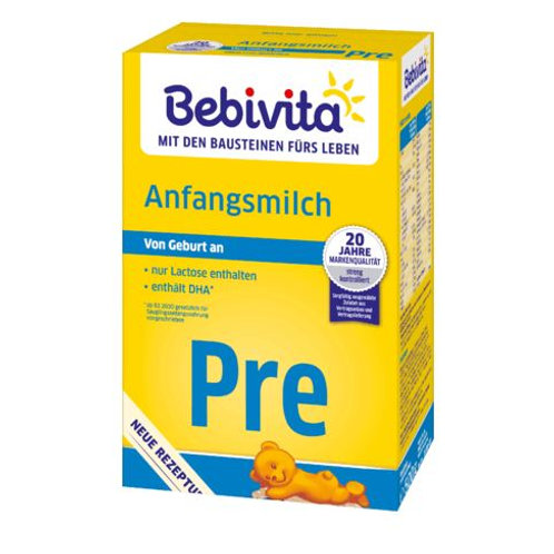 Bebivita Anfangsmilch Pre von Geburt an, 0,5 kg