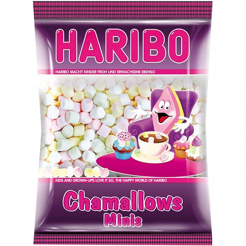 HARIBO Chamallows Minis (Marshmallows), Beutel 200 gramm
