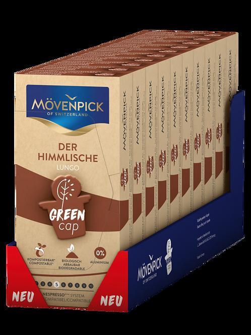Nespresso® kompatible Kompostierbare KaffeeKapsel Mövenpick Der Himmlische