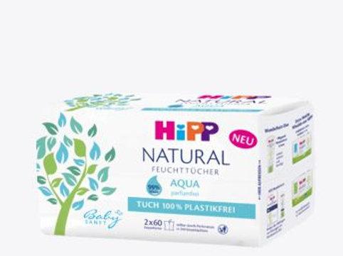 Hipp Babysanft Feuchttücher NATURAL Aqua, 120 St