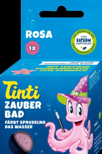 Tinti Badezusatz Zauberbad Rosa, 1 St.