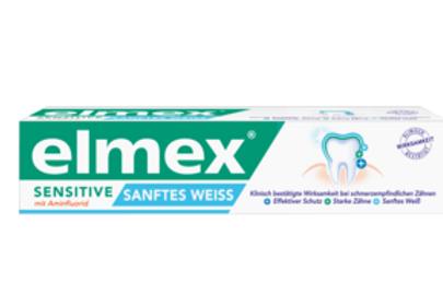 Elmex Zahnpasta Sensitive sanftes Weiss, 75 ml