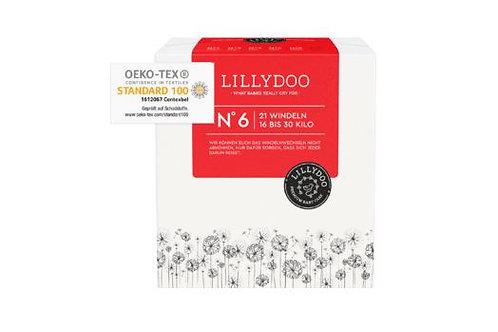 Lillydoo Premium Baby Nummer 6 Windeln 16-30 Kilo 21 Stück.