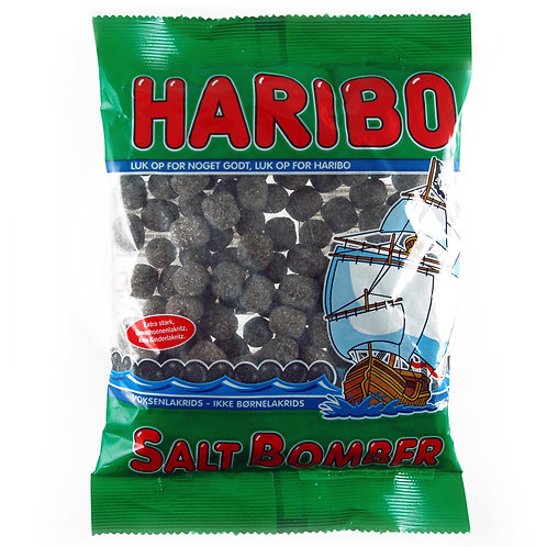 HARIBO Saltbomber, Beutel 325g