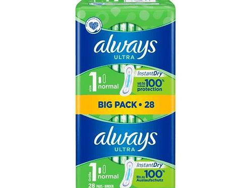 Always Ultra-Bandage Normal BigPack, 28 pcs