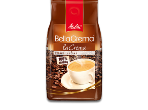 Melitta Bella Crema *LA CREMA* Kaffeebohnen Stärke 3