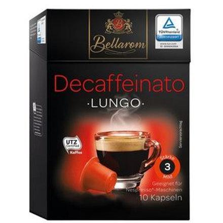 Nespresso® Kompatible Kapsel von Bellarom DECAFFEINATO lungo