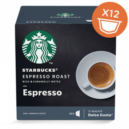 Dolce Gusto Kapsel von STARBUCKS Espresso Roast