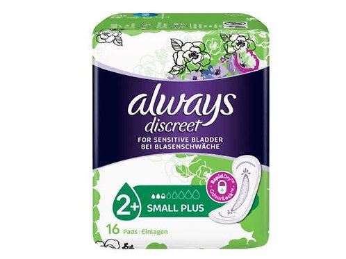 always Discreet Hygieneeinlagen Blasenschwäche Binden Small Plus, 16 St