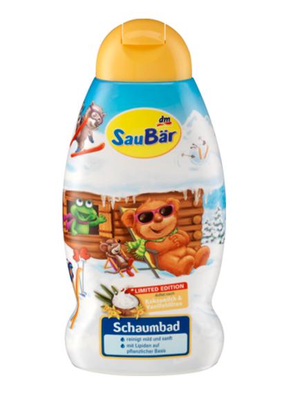 Saubär Schaumbad, 500 ml Kokos-Vanille 500 ML