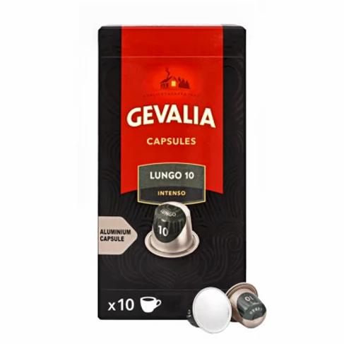 Nespresso® kompatible Kapsel von Gevalia Lungo 10 Intenso (100 Kapseln)