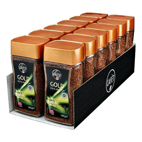 Cafet Instantkaffee Gold 100 g Arabica