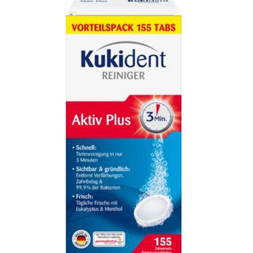 Kukident Aktiv Plus Gebissreiniger 155 Tabletten