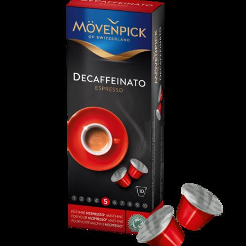 Nespresso® kompatible Kapsel Mövenpick Decaffeinato