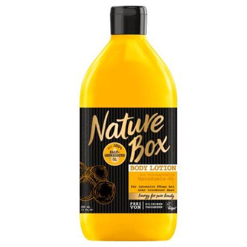 Nature Box Bodylotion Macadamia, 385 ml