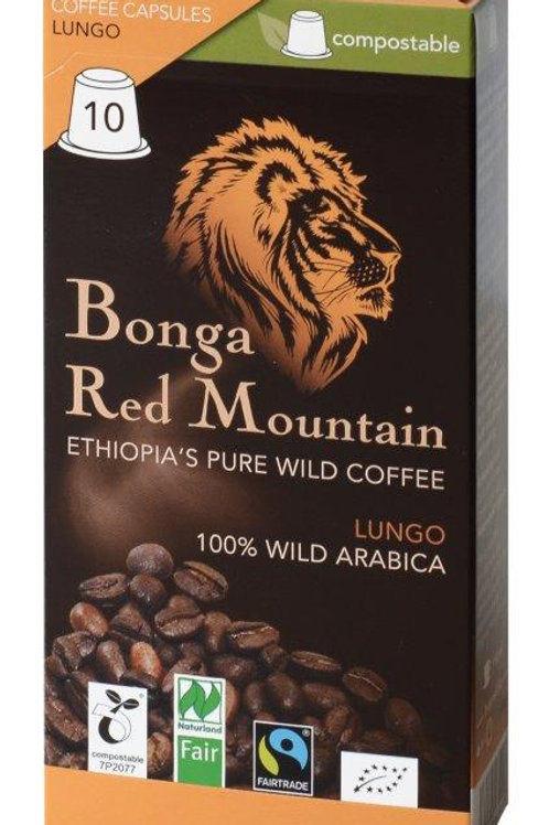 NESPRESSO® Kompatible Kapsel Bonga Red Mountain LUNGO