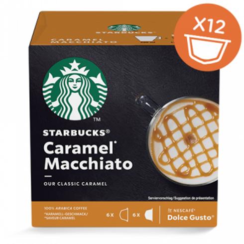 Dolce Gusto Kapsel von STARBUCKS Latte Macchiato Caramell