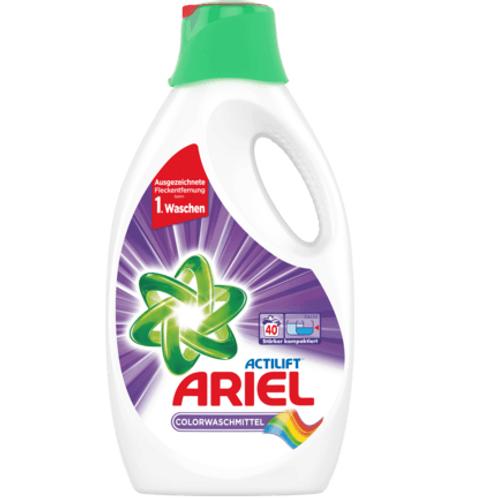 Ariel Colorwaschmittel Actilift Flüssig, 40 Wl