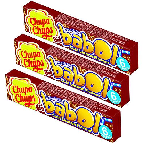 Chupa Chups Big babol Cola-Lemon 3Pack