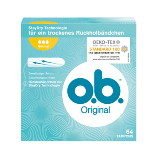 o.b. Tampon Original Normal, 64 St