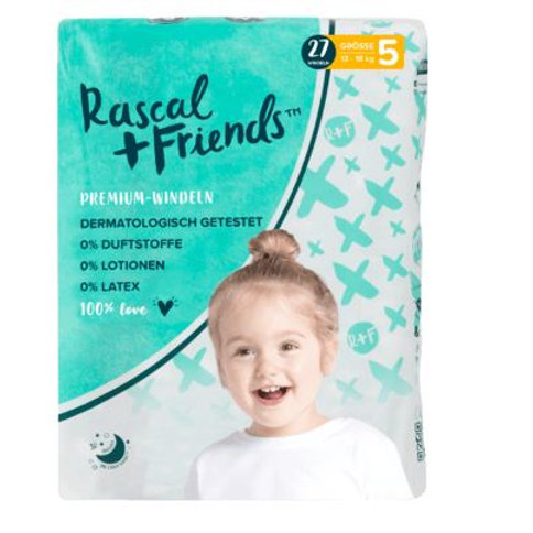 Rascal+Friends Windeln Grösse 5, 13-18 kg, 27 St