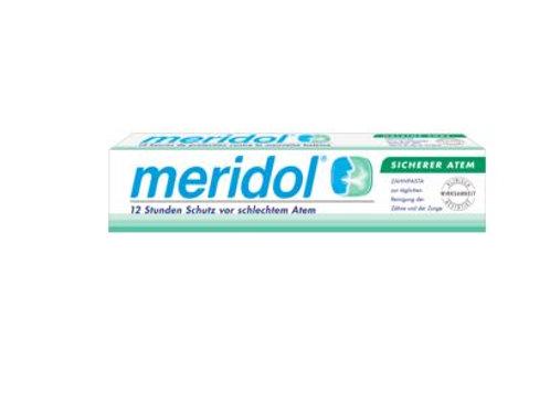 Meridol Zahnpasta sicherer Atem, 75 ml