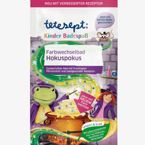 Tetesept Badezusatz Kinder Badespaß Farbwechselbad Hokuspokus, 50 g