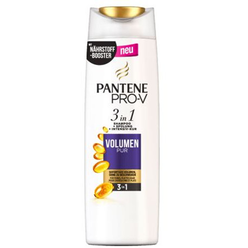 PANTENE PRO-V Shampoo Volumen Pur 3in1, 250 ml