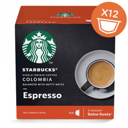 Dolce Gusto Kapsel von STARBUCKS Espresso Colombia