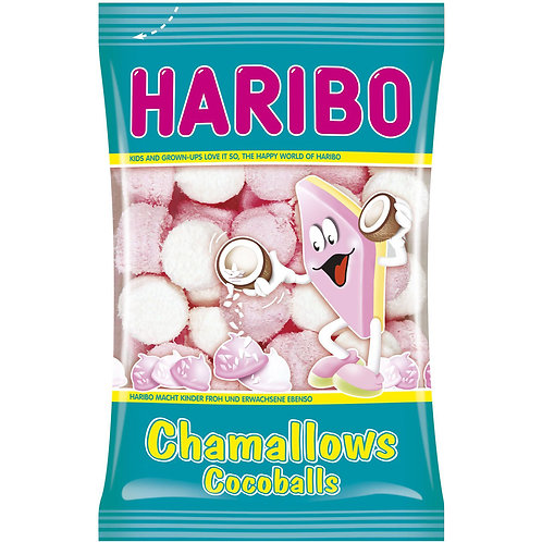 HARIBO Chamallows Cocoballs, Beutel 200g