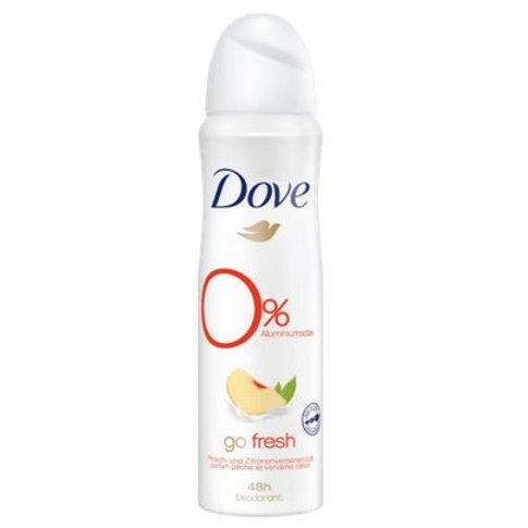 Dove Deo Spray Deodorant Go fresh Peach @, 150 ml