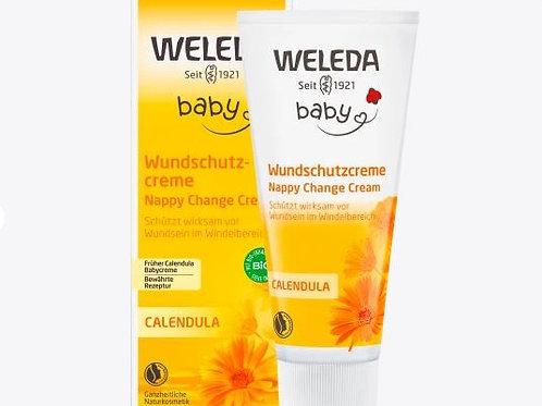 Weleda Wundschutzcreme Calendula Babycreme, 75 ml