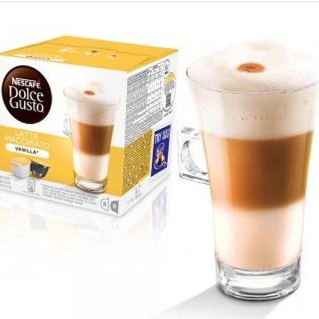 Dolce Gusto Kapsel von Nescafé Latte Macchiato Vanilla