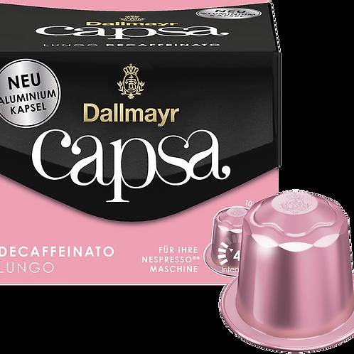 Nespresso® kompatible Kapsel Capsa von Dallmayr LUNGO DECAFFEINATO