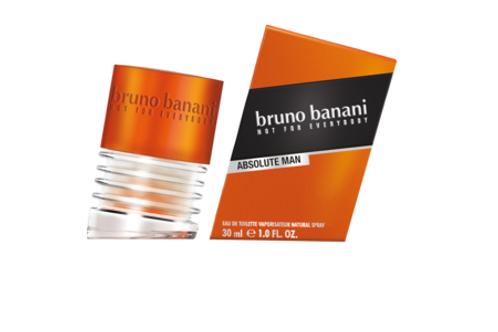 Bruno Banani Eau de Toilette Absolute Man, 30 ml