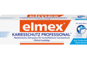 Elmex Zahnpasta Kariesschutz professional, 75 ml