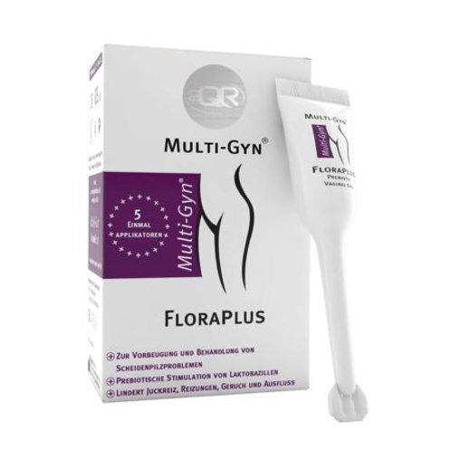 Multi-Gyn FloraPlus 5 Applikatoren à 5 ml, 25 ml