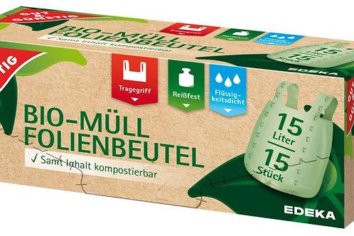 GUT&GÜNSTIG Bio-Müll Folienbeutel 15l/15 Stk