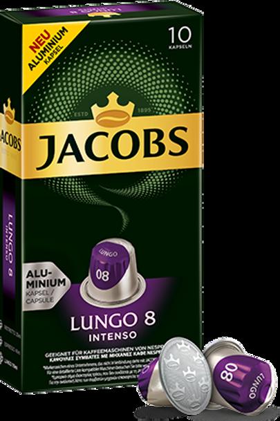 NESPRESSO® Kompatible Kapsel Jacobs Lungo 8 Intenso