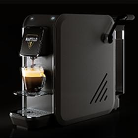 Kaffeemaschine System *MARTELLO* Modell SMART SCHWARZ