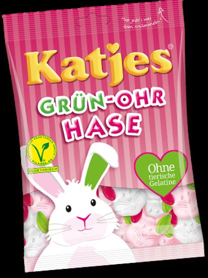 Katjes Grün-Ohr Hase, Beutel 200 gramm